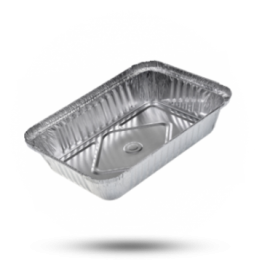 Aluminium Schalen 870cc, 195 x 130 x 40mm 845B (R1)