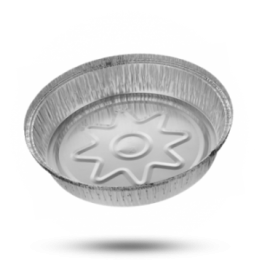 Aluminium Schalen C1450L, rund, Ø 23cm