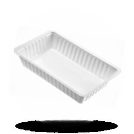 Plastik Schalen A14 weiß