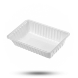 Schalen A13, Kunststoff, weiß
