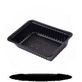 Schalen A13, Kunststoff, schwarz