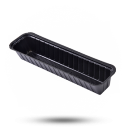 Plastik Schalen A16S schwarz