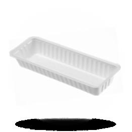 Plastik Schalen A18 weiß