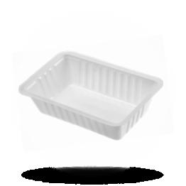 Plastik Schalen A9 weiß