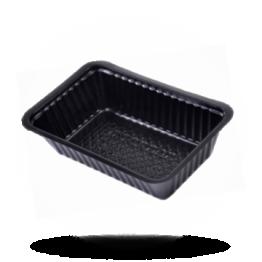 Plastik Schalen A9 schwarz