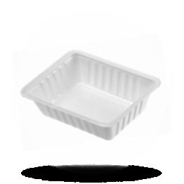 Plastik Schalen A7, weiß