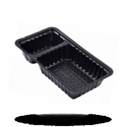 Schalen A7, Kunststoff, schwarz