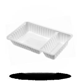 Schalen A20, Kunststoff, weiß