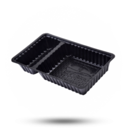 Plastik Schalen A20 schwarz