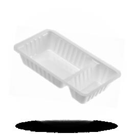 Schalen A23, 2-geteilt, Kunststoff, weiß