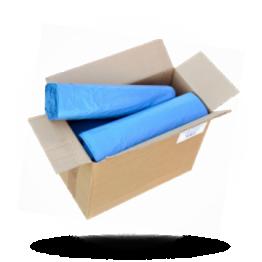 Müllbeutel 120L, 70x110cm, blau, 38 mu