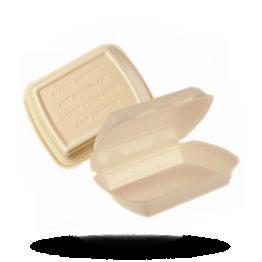 Menüboxen HP4, ungeteilt, HP4 beige
