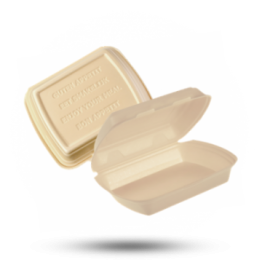Menüboxen IP4, ungeteilt, beige