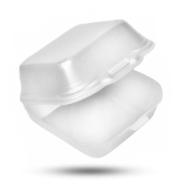 Hamburgerbox HP3 / IP10, weiß