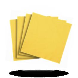 Servietten 33x33cm 3-lg. Sun yellow
