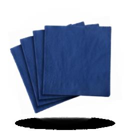Servietten 33x33cm 3-lg. Royal blue