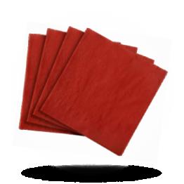 Servietten 33x33cm 3-lg. Velvet bordeaux red