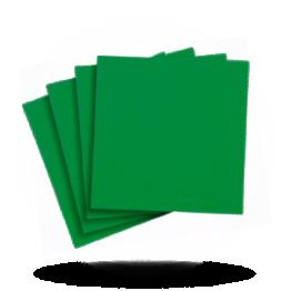 Servietten 33x33cm 3-lg. Emerald green