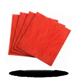 Servietten 33x33cm 3-lagig, Jalapeno red