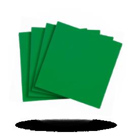 Servietten 40x40cm 3-lg. Emerald green
