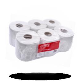 Diamond Pack Papier Handtuchrollen 19cm, 2-Lagig, weiß