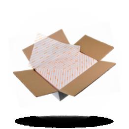 Hamburgerpapier 25x33cm, orange