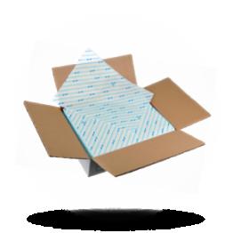 Hamburgerpapier 25x33cm, blau