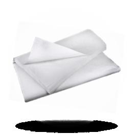 Damastpapier 80x80, weiß