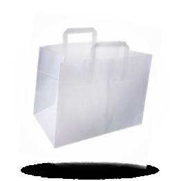 Papiertragetaschen 26x17x26cm unbedruckt