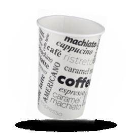 Papp-Kaffeebecher 300cc Coffee to go bedruckt