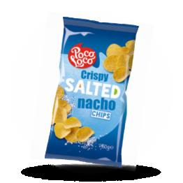 Nacho chips Gesalzen, rund