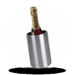 Weinkühler Gebürstettes Edelstahl