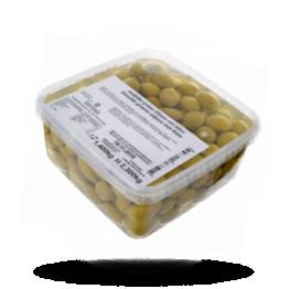 Gefüllte grüne Oliven Käse