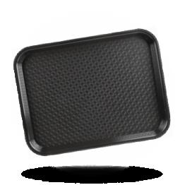 Tablett Schwarz 34,5x26,5cm