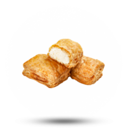 Mini Feta-Teichtaschen Griechisch, Blätterteig, pro St. (34g) verpackt