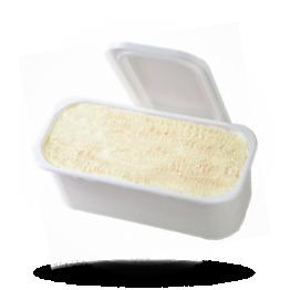 Vanille Eis Speise Eis, tiefgefroren