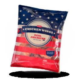 Chicken wings Buffalo Pikant, gegart, halal, tiefgefroren