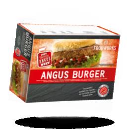 100% Angus Hamburgers 180g pro Stück, tiefgefroren