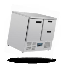 Kühltisch 240L G-Serie, 4 Schubladen