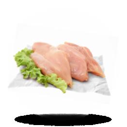 Hähnchenbrustfilet ohne Fett 140g+, Halal, Thailand, tiefgefroren
