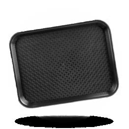Tablett polypropylen 35x45cm, schwarz