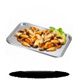 Chilenisches Miesmuschelfleisch 200/300, gekocht, tiefgefroren