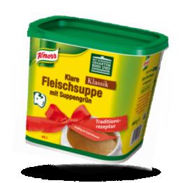 Klare Fleischsuppe Mit Suppengrün