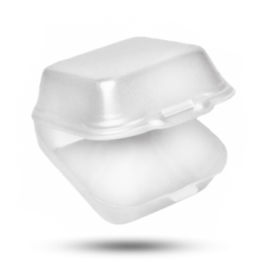 Hamburger-Box DP10, weiß