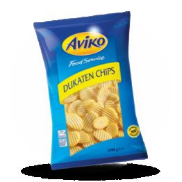 Dukaten Chips Kartoffelscheiben Wellenschnitt