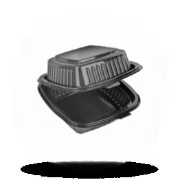 Essen-box Klein, schwarz