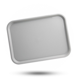 Tablett grau 34,5x26,5cm