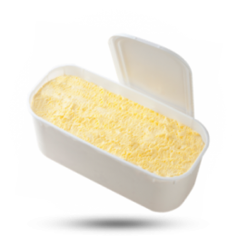 Bananen Eis Speise Eis, tiefgefroren
