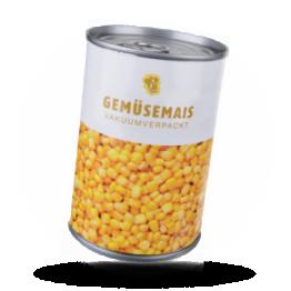Maïskörner Vakuüm