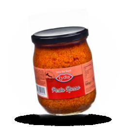 Pesto rosso Mit Basilikum und Tomate